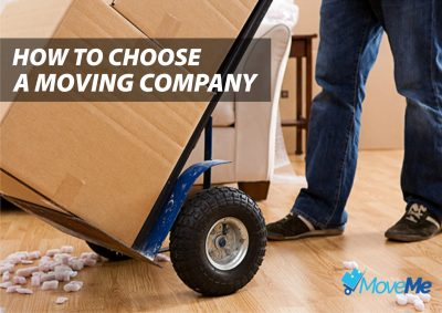 choosing a moving company