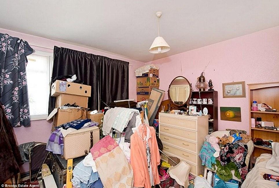 organise bedrooms