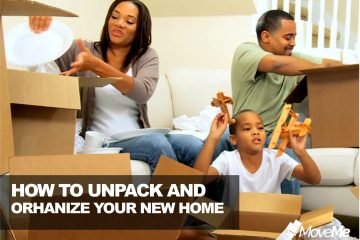 unpack and organise your new home